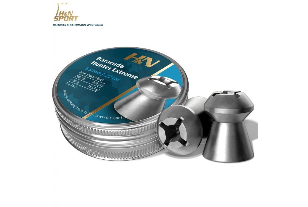 CHUMBO H & N BARACUDA HUNTER EXTREME 5.50mm (.22) 200PCS