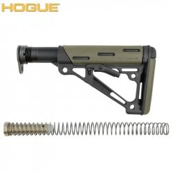 HOGUE AR-15/M-16 COLLAPSIBLE BUTTSTOCK ASSEMBLY GREEN