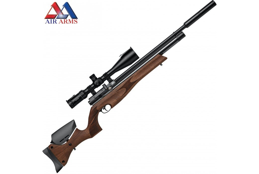 AIR RIFLE AIR ARMS S510 XS XTRA ULTIMATE SPORTER WALNUT