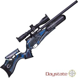 CARABINA PCP DAYSTATE RED WOLF MIDNIGHT LAMINATE HP HI LITE