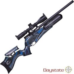 PCP AIR RIFLE DAYSTATE RED WOLF MIDNIGHT LAMINATE HP HI LITE