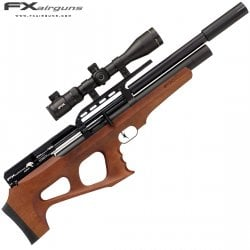 CARABINA PCP FX WILDCAT MKII REGULADA WALNUT