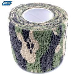 ASG CAMOUFLAGE STRETCH FABRIC WOODLAND 5X450CM