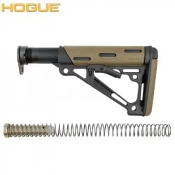 HOGUE AR-15/M-16 COLLAPSIBLE BUTTSTOCK ASSEMBLY FDE