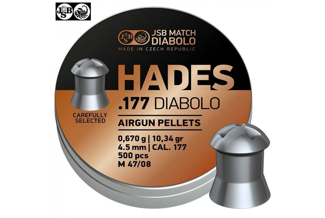 CHUMBO JSB HADES ORIGINAL 4.50mm (.177) 500pcs