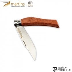 MARTINS POCKET KNIFE ECO GIROBLOCK M BUBINGA 8CM
