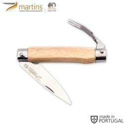 MARTINS POCKET KNIFE W/ FORK BEECH 6.6CM
