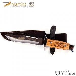 MARTINS BUSHCRAFT KNIFE M OLIVE 15.7CM