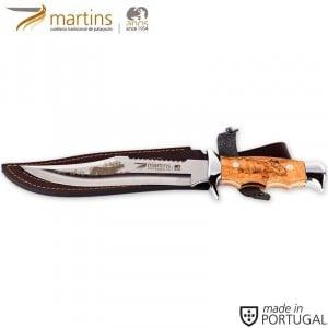 MARTINS COUTEAU BUSHCRAFT L OLIVE 19.8CM