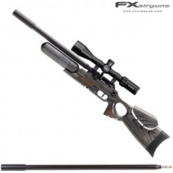 PCP AIR RIFLE FX CROWN CONTINUUM BLACK-PEPPER LAMINATE