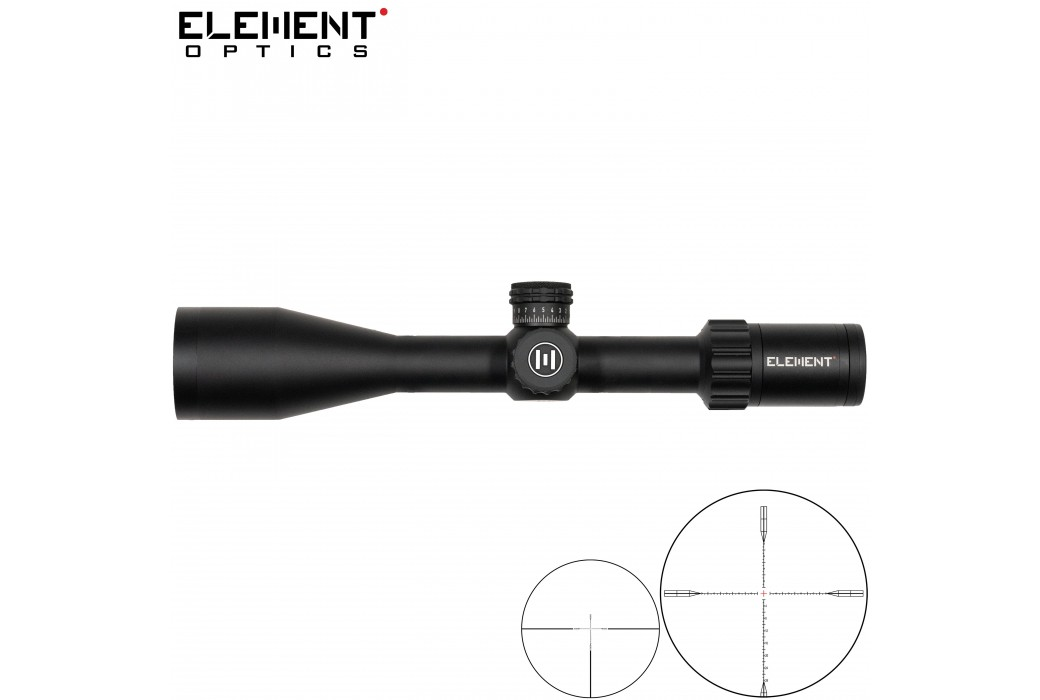 LUNETTE DE TIR ELEMENT OPTICS NEXUS 5-20X50 EHR-1C FFP MOA