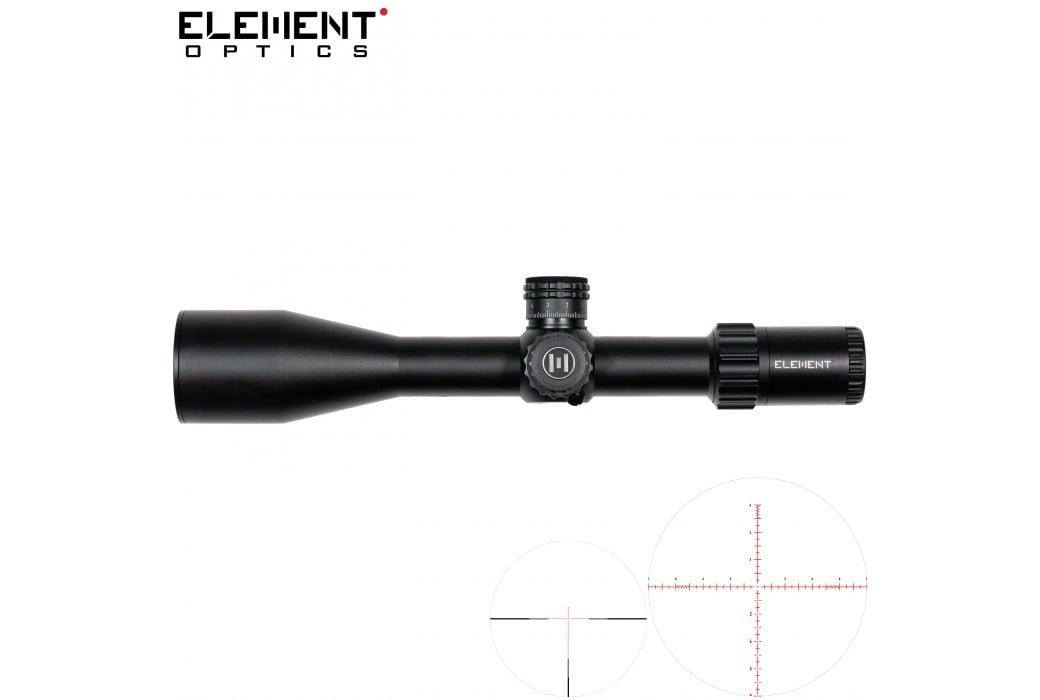 SCOPE ELEMENT OPTICS TITAN 5-25X56 APR-1C FFP MRAD