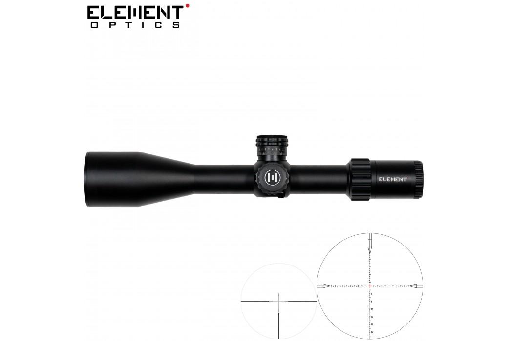 LUNETTE DE TIR ELEMENT OPTICS TITAN 5-25X56 EHR-1C FFP MRAD