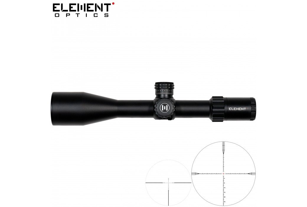 SCOPE ELEMENT OPTICS TITAN 5-25X56 EHR-1C FFP MRAD