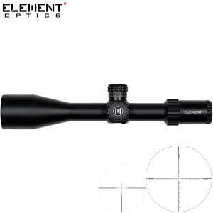 VISOR ELEMENT OPTICS TITAN 5-25X56 EHR-1C FFP MRAD