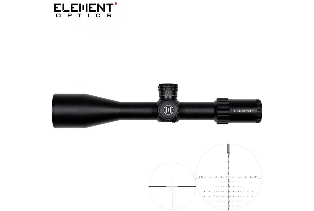 LUNETTE DE TIR ELEMENT OPTICS TITAN 5-25X56 EHR-2D FFP MRAD