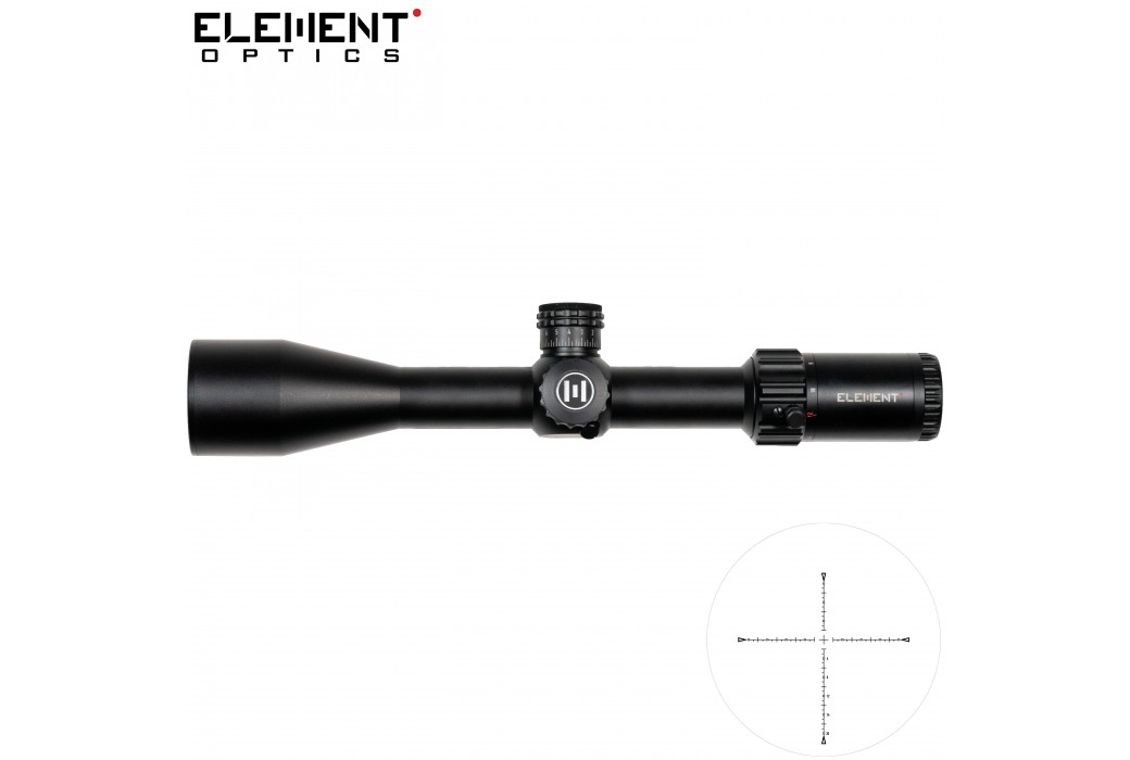 LUNETTE DE TIR ELEMENT OPTICS HELIX 6-24X50 EHR-1C SFP MOA