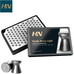 BALINES H & N FINALE MAXX LIGHT 4.50mm (.177) 200PCS