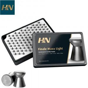 MUNITIONS H & N FINALE MAXX LIGHT 4.50mm (.177) 200PCS