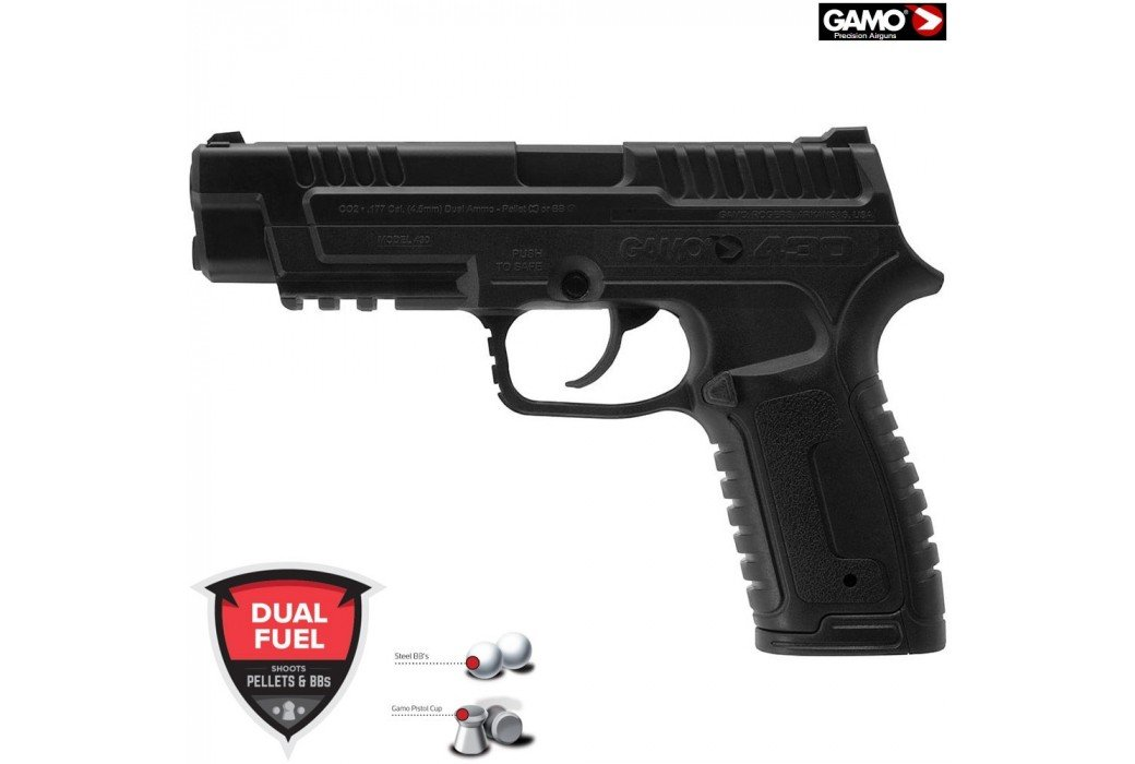 CO2 PISTOL GAMO P-430 PELLET / BB