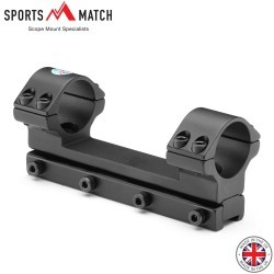 "SPORTSMATCH DM60 DAMPA 1PC Mount 1"" 9-11mm HIGH"