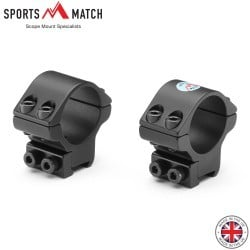 "SPORTSMATCH LTO31C MONTURAS 2PC 1"" 9-11mm BAJA"