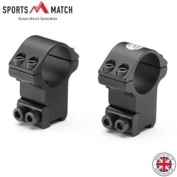 "SPORTSMATCH HTO8C MONTAGE 2PC 1"" 9-11mm HAUT"
