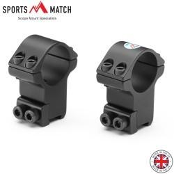 """SPORTSMATCH HTO8C MONTURAS 2PC 1"""" 9-11mm ALTA"""