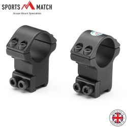 "SPORTSMATCH HTO8C Two-Piece Mount 1"" 9-11mm HIGH"