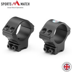 SPORTSMATCH TO35C MONTURAS 2PC 30mm 9-11mm MEDIA