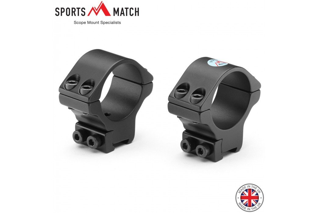 SPORTSMATCH TO35C MONTAGENS 2PC 30mm 9-11mm MEDIA