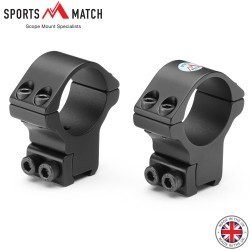 SPORTSMATCH HTO36C Two-Piece Mount 30mm 9-11mm HIGH