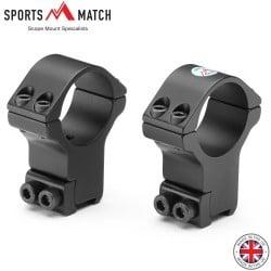 SPORTSMATCH HTO71 MONTAGENS 2PC 30mm 9-11mm EXTRA ALTA
