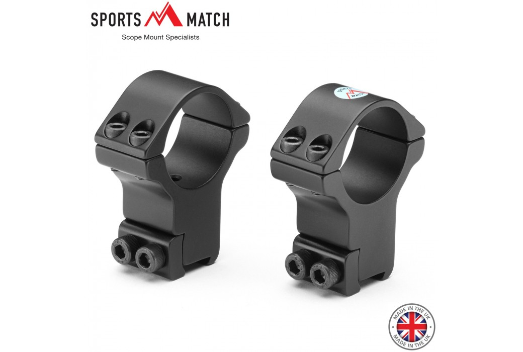 SPORTSMATCH HTO71 MONTAGE 2PC 30mm 9-11mm EXTRA HAUT