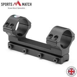 SPORTSMATCH DM70 DAMPA MONTAGEM 1PC 30mm 9-11mm ALTA