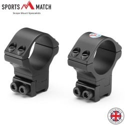 SPORTSMATCH ATP61 MONTURAS 2PC 30mm 9-11mm ALTURA AJUSTABLE