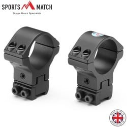 SPORTSMATCH ATP66 MONTURAS 2PC 30mm 9-11mm TOTALMENTE AJUSTABLE