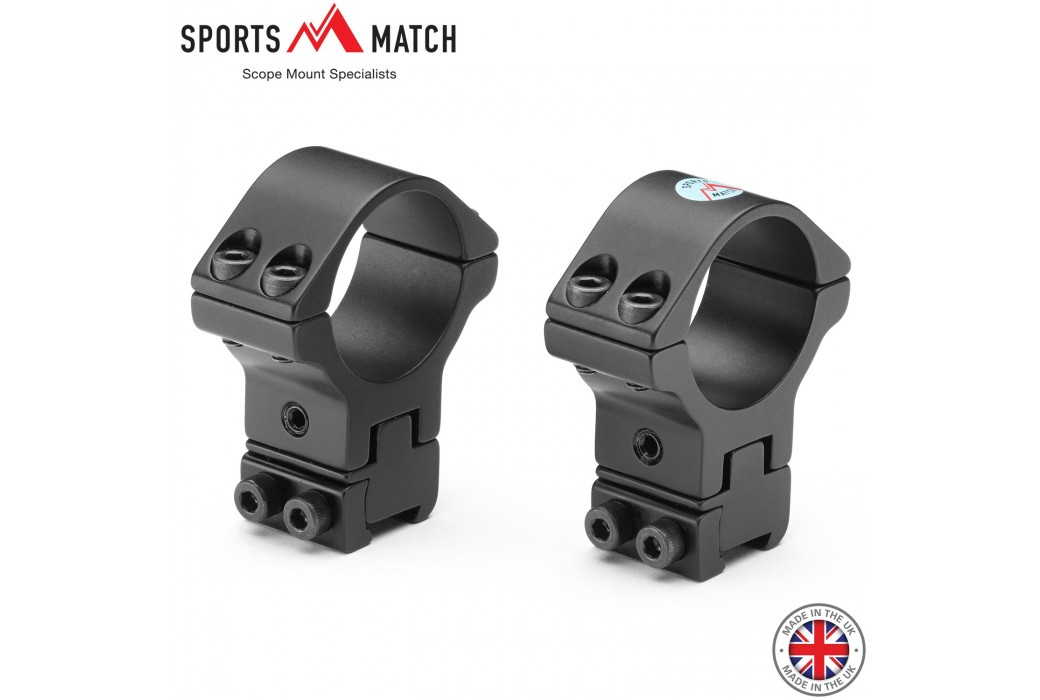 SPORTSMATCH ATP66 Two-Piece Mount 30mm 9-11mm FULLY ADJUSTABLE
