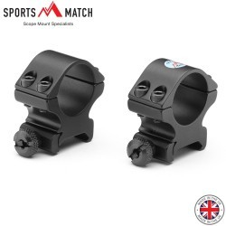 "SPORTSMATCH TO54C WEAVER TWO PIECE MOUNTS 1"" WEAVER MEDIUM"