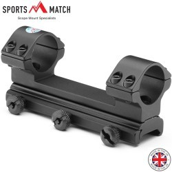 "SPORTSMATCH DM80 DAMPA WEAVER 1PC Mount 1"" HIGH"