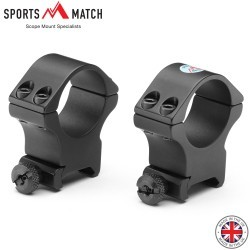 SPORTSMATCH HTO67C MONTAGE 2PC WEAVER 30mm HAUT