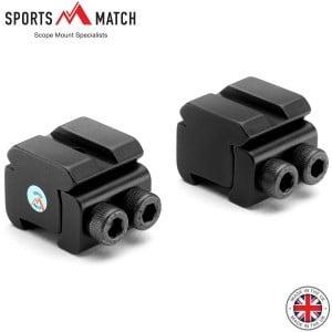 SPORTSMATCH RB5 ADAPTEUR 2PC 11mm-3/8 WEAVER PICANTINNY