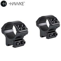 "HAWKE MONTAGE 2 PCS 1"" 9-11mm BAS"