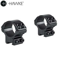 "HAWKE Two-Piece Mount 1"" 9-11mm LOW"