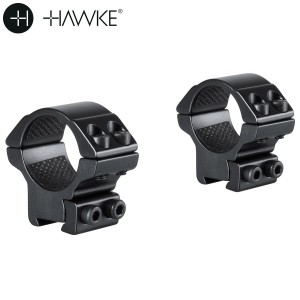 "HAWKE MONTURAS 2 PCS 1"" 9-11mm BAJA"