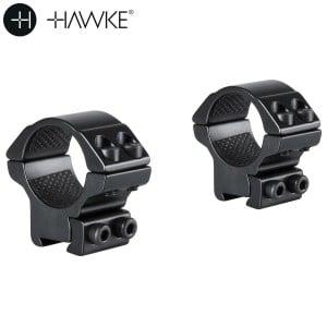 "HAWKE Two-Piece Mount 1"" 9-11mm LOW"
