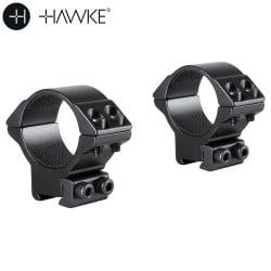 HAWKE MONTAGEM 2 PCS 30mm 9-11mm MÉDIA