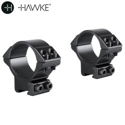 HAWKE MONTURAS 2 PCS 30mm 9-11mm MEDIA
