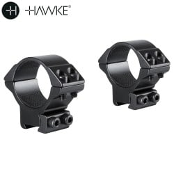 HAWKE Two-Piece Mount 30mm 9-11mm MEDIUM