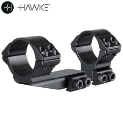"HAWKE TWO-PIECE MOUNT 30mm REACHFORWARD 2"" 9-11mm HIGH"
